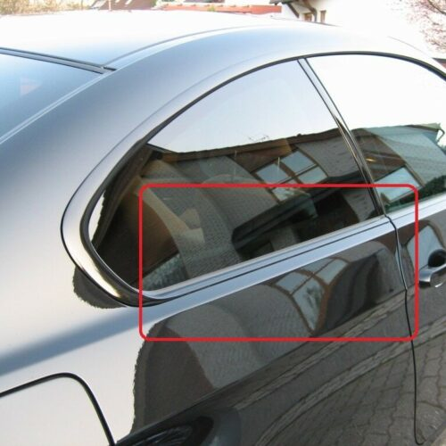 BMW New Genuine 3 Series E92 Rear Window Trim Molding Finisher Gloss Black Right