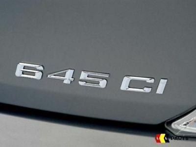 Bmw neuf origine E64 E63 série 6 645Ci étiquette autocollant badge emblème 7064056